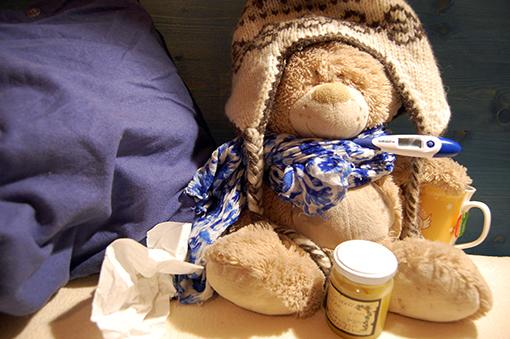 Wenn Kinder Fieber haben, sind sie gesund!